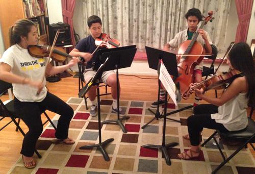 Rehearsal in Cerritos