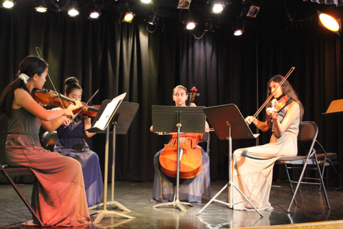 Beethoven—String Quartet op 18/2, III. Scherzo. Allegro Connie Chang-Chien & Karissa Dole, violin; Tara Char, viola; Giulia Roy, cello