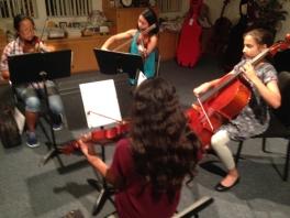 rehearsal in Fullerton