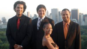The Harlem Quartet in worldwide travels