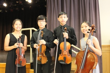 Ashley Jong, John Son, Christopher Chang and Amy Jong