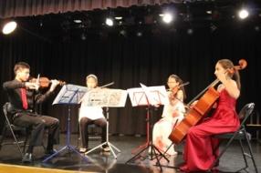 Mendelssohn Quartet 2, I. Adagio-Allegro
