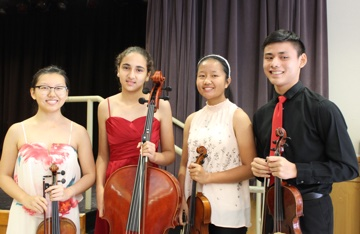Christina Liu, Giulia Roy, Connie Chang-Chien, Curtis Liu