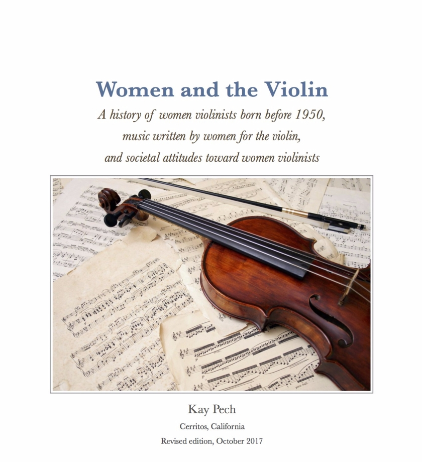 Pech—Women and the Violin 2017 flyer