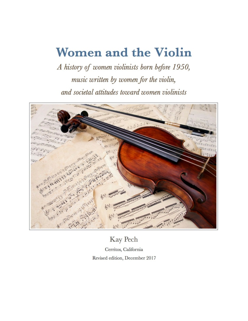 Pech—Women and the Violin